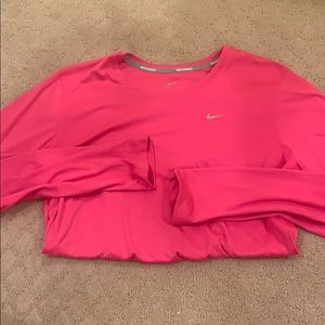 Long sleeve Nike running dri-fit